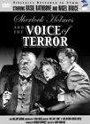 DVD - MPI Sherlock Holmes and the Voice of Terror